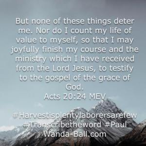 acts 20-24 Paul