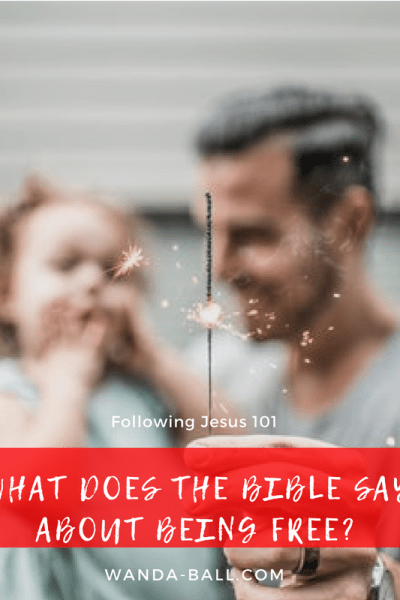 what does the bible say about being free blog