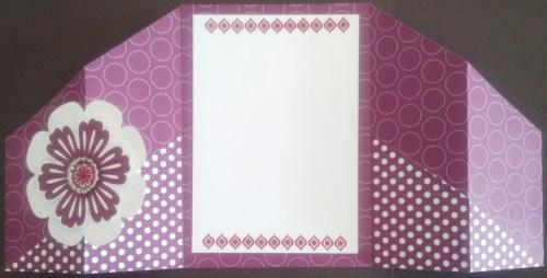 Double Fold Gate Card