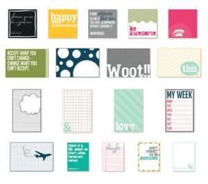 Happy Things Pocket Cards - Digital Download  133383