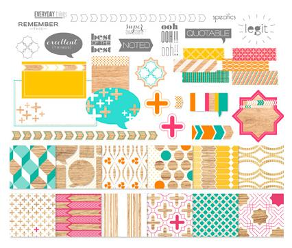Legit Kit - Digital Download  134686  ~ Price: $9.95 Following is the Stamp Brush Set and two Designer Series Papers