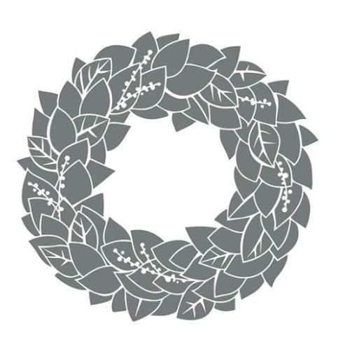 Wonderful Wreath Stamp Brush Set - Digital Download 136530 - Price: $1.95