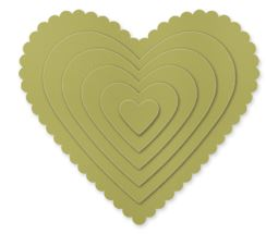 Hearts Collection Framelits Die   Item # 125599 Regular Price: $26.95 Discounted Price: $20.21