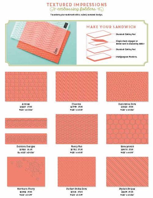 Embossing Folders 1