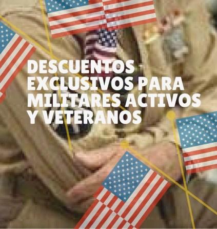 Descuentos para veteranos