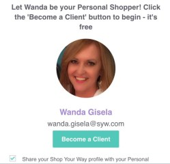 Personal Shopper Virtual