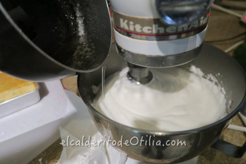 Frosting de Merengue