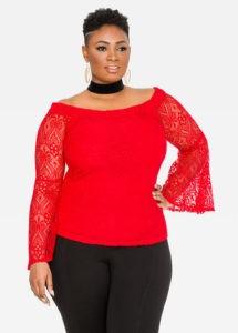 Ashley camisa roja