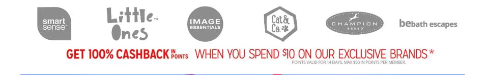 Kmart: Compra Gratis 100% CASHBACK