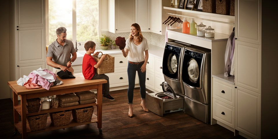 LESS WASHING TIME, MORE TIME FOR THE FAMILY!