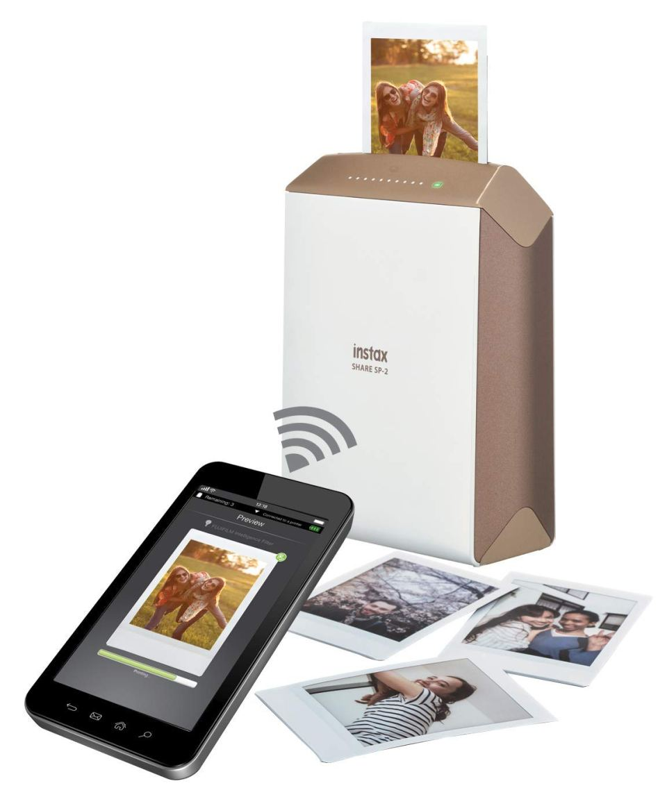AMAZON  Fujifilm INSTAX Share SP-2 Smart Phone Printer (Gold) $99.30