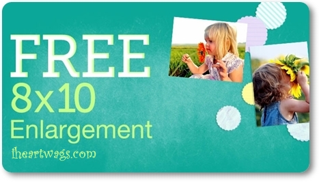 Free 8×10 Enlargement w/ code