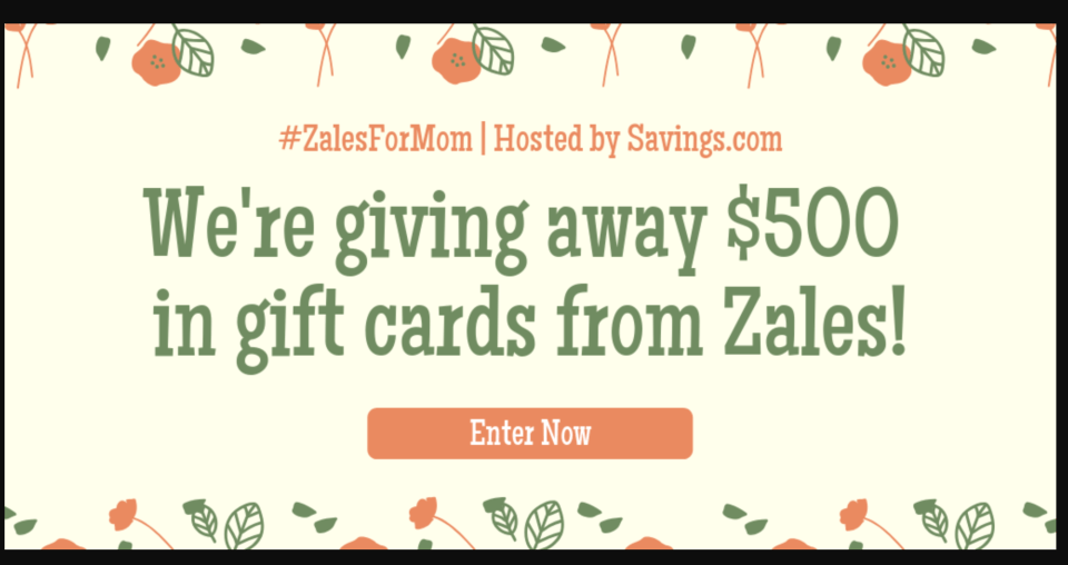 GIVEAWAY: ZALES FOR MOM