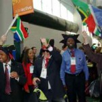 South Africans go on the map in Salt Lake City.