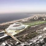 Durban stadium model.