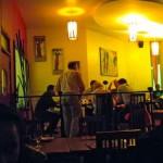 Inside Blanco's, Nairobi.