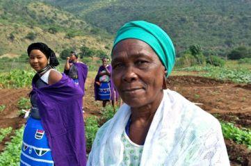 Gogo (grandmother) Melta Ngubane endorses the project.