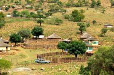 Part of the Masinga municipality landscape.