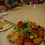 Brown lentil shepherd's pie lunch
