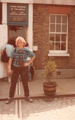Wanda Hennig at Greenwich, England.