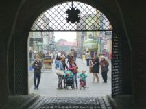 Entrance to Chełmno old town.