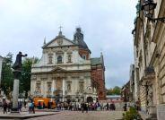 In Krakow.