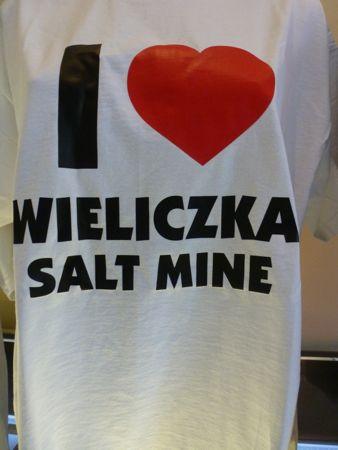 Wieliczka Salt Mine.