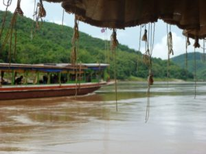 Mekong slow boat Laos