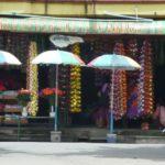 Chiang Rai flower market scene.