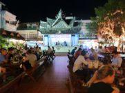 Night market dining Chiang Rai.