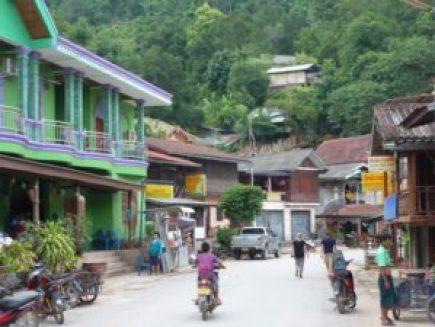 Pakbeng on the Mekong