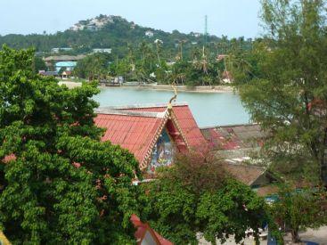 Koh Sumai view from Big Buddha.