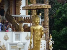 Buddha at Wat Bupparam on Th Tha Phae.