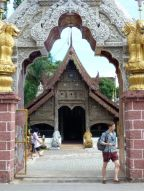 Another part of Wat Bupparam on Th Tha Phae.