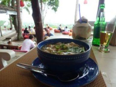 Jungle Club wonton soup.