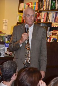 Peter Adams at Adams Bookstore.