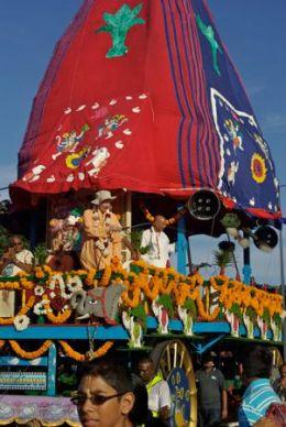 Hare Krishna chariot festival Durban