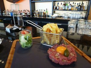 Steak tartare Sofitel.