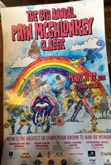 Pain McSchlonkey weekend.