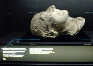 Chopin death mask
