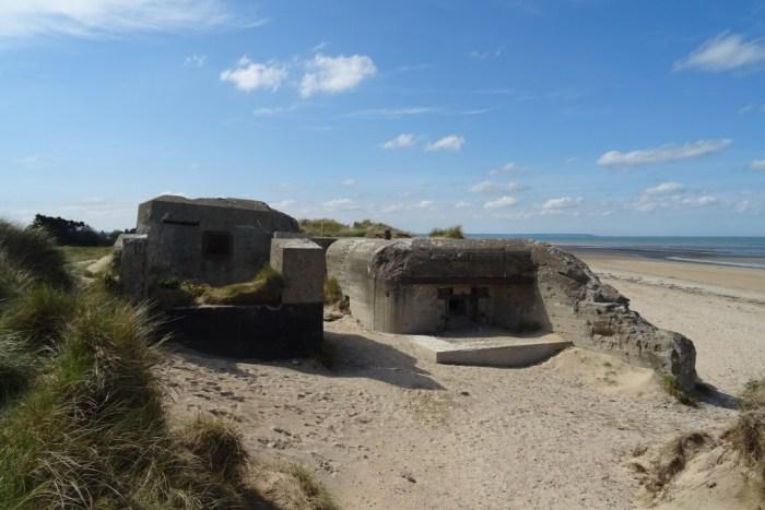 Bunkers Utah beach
