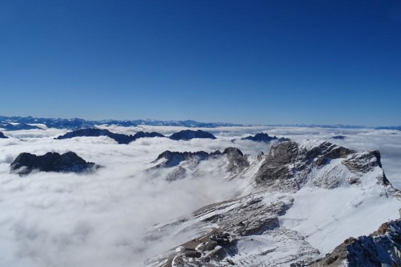 Zugspitze, wat indrukwekkend om te zien!