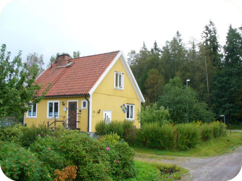 Ons huisje in Nykroppa, midden-Zweden