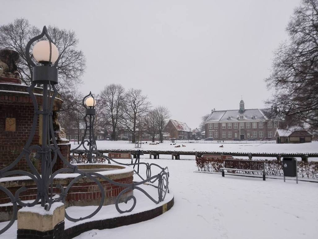 Winter in Veendam