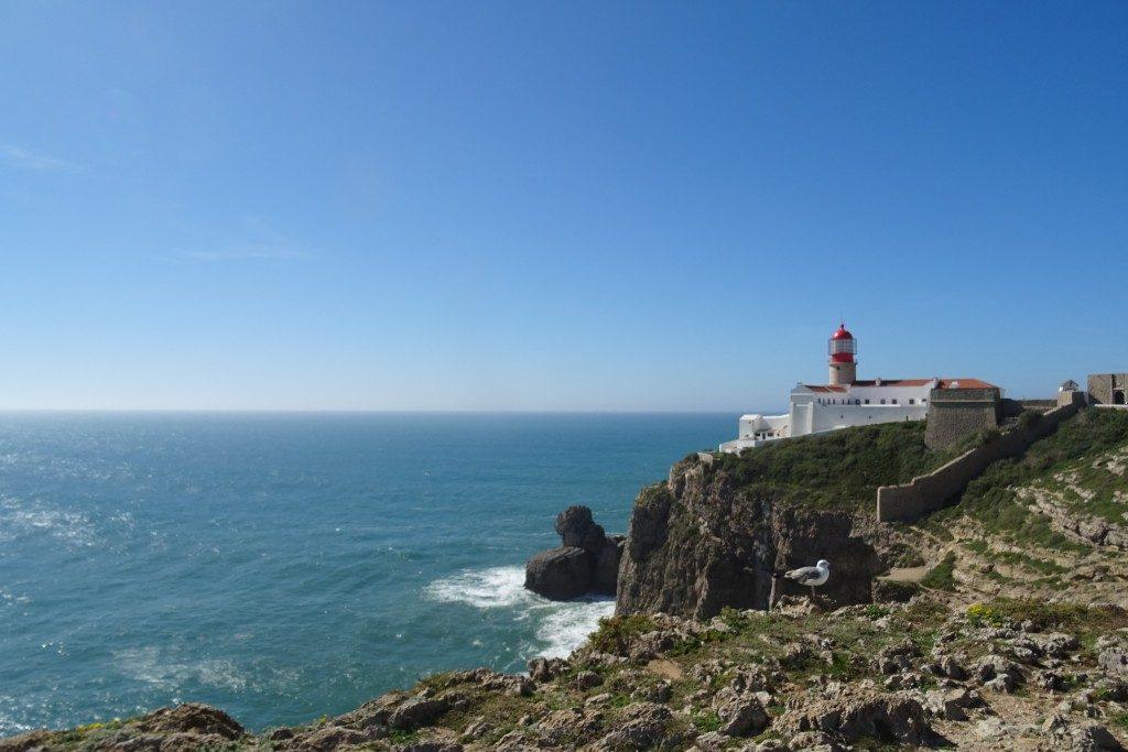 Cap de St. Vicent Portugal maart