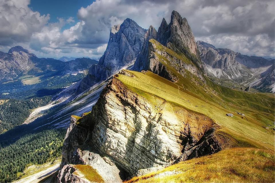 Dolomieten Italië wandelen