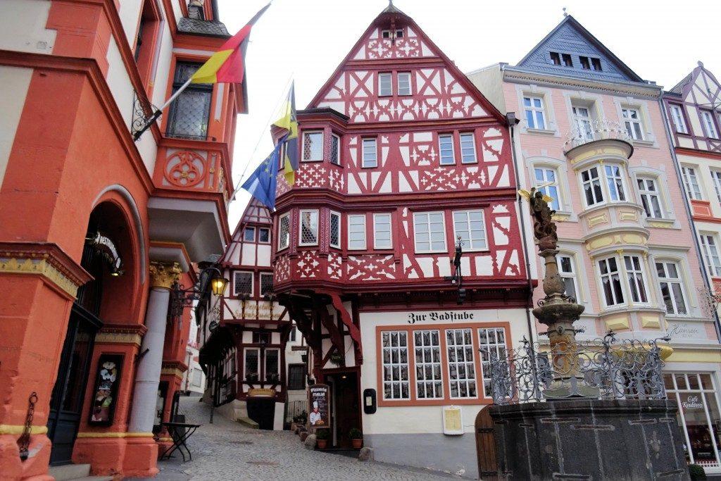 Bernkastel Kues Moezel Duitsland