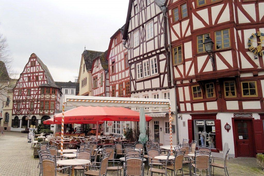 Bischofsplatz Limburg an der Lahn Duitsland