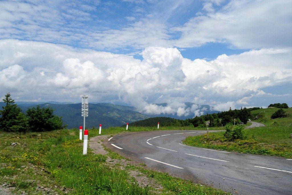 Route des Cretes Elzas Vogezen Frankrijk