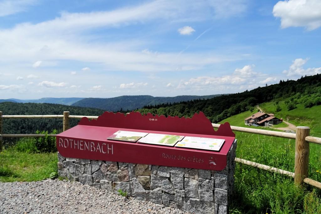 Rothenbach Route des Creties Vogezen